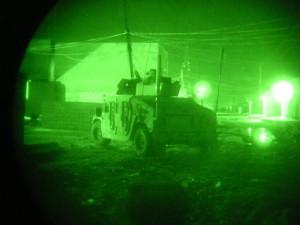 Night Patrol, Riyadh Iraq