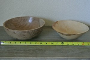 Bowl: Walnut and Ash