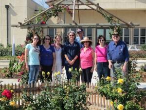 Members in the Heart Garden, Ventura CA