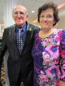 Linda Weston and her father Frank Johnson